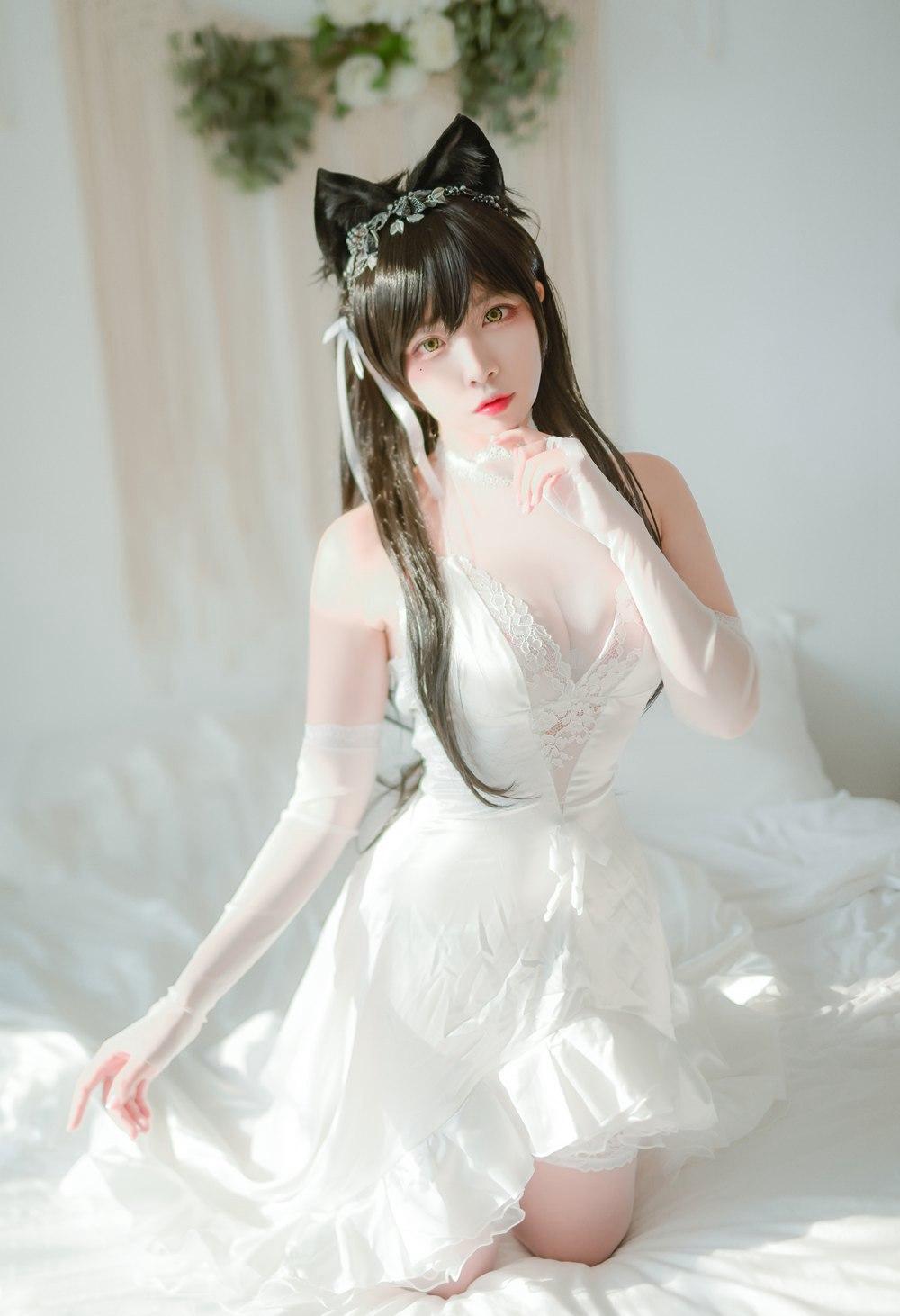 [喵糖映画] VOL.100 婚纱爱宕 [40P] -第1张