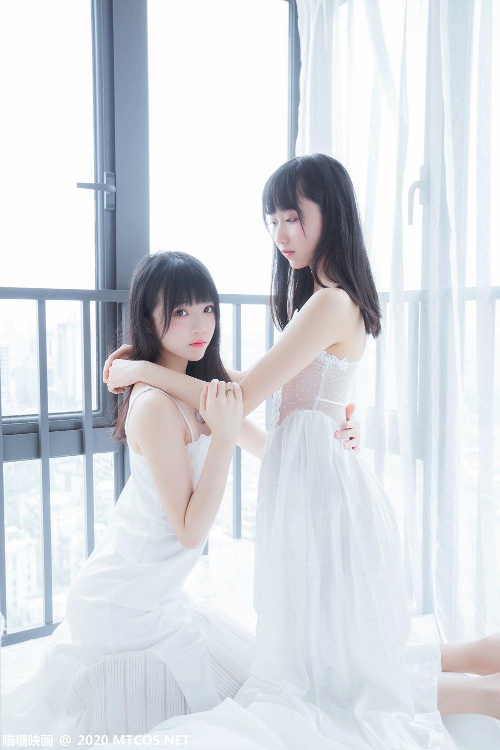 [喵糖映画] VOL.173 她.白色长裙 [54P] -第1张