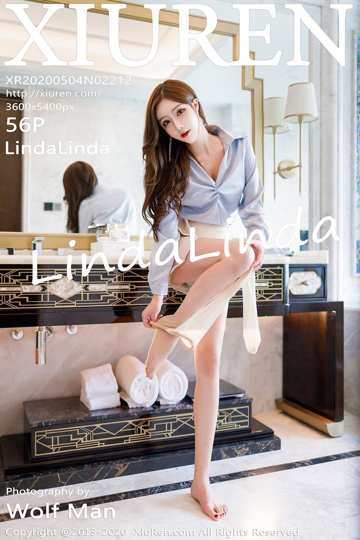 [XiuRen秀人网] 2020.05.04 No.2212 LindaLinda 丝袜美腿写真 [56 1P] -第1张