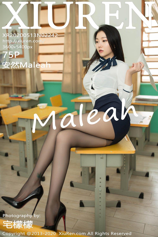 [XiuRen秀人网] 2020.05.13 No.2242 安然Maleah 偷窥女教师主题写真 [75 1P] -第1张