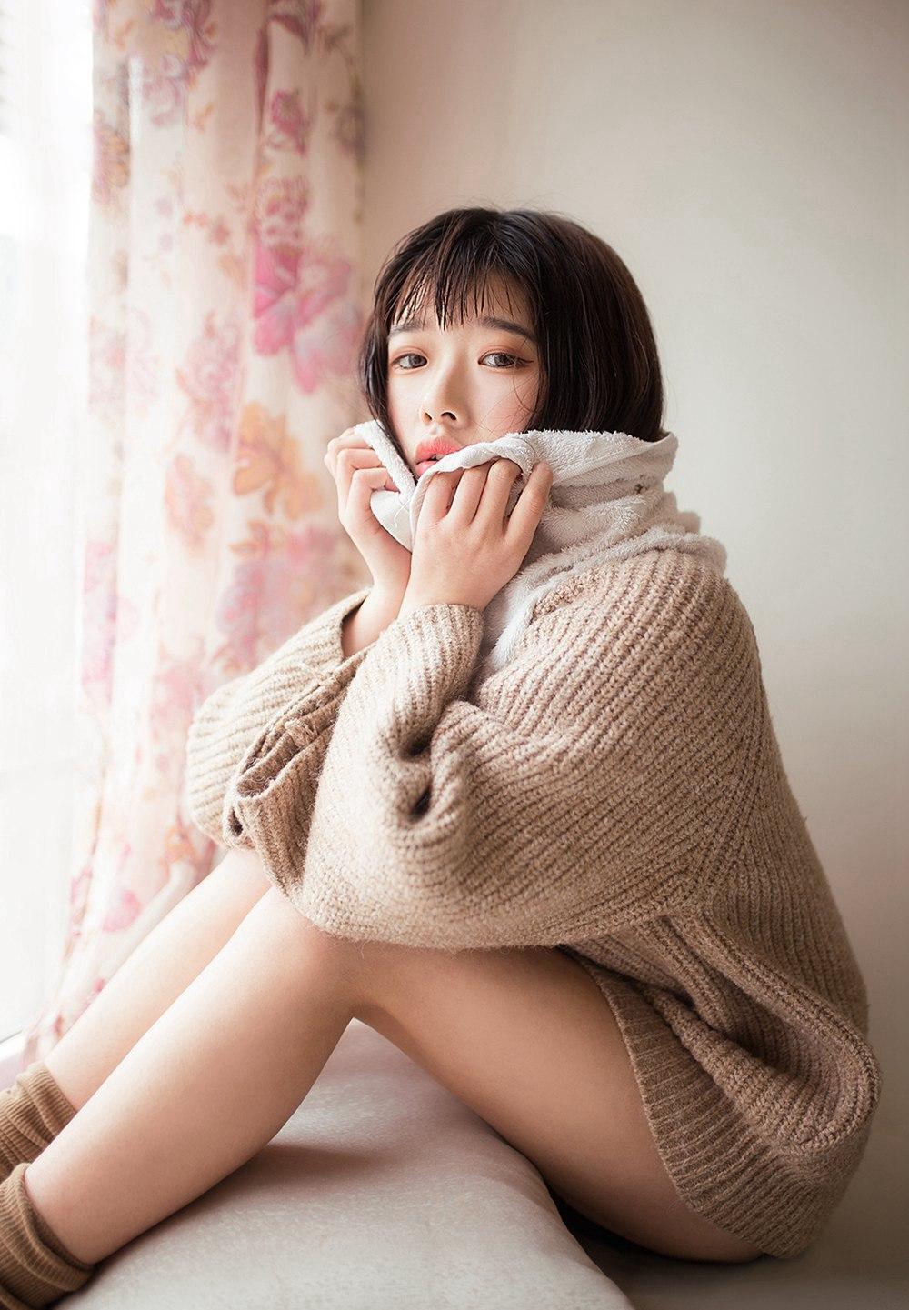 [喵糖映画] VOL.101 冬日毛衣 [40P] -第1张