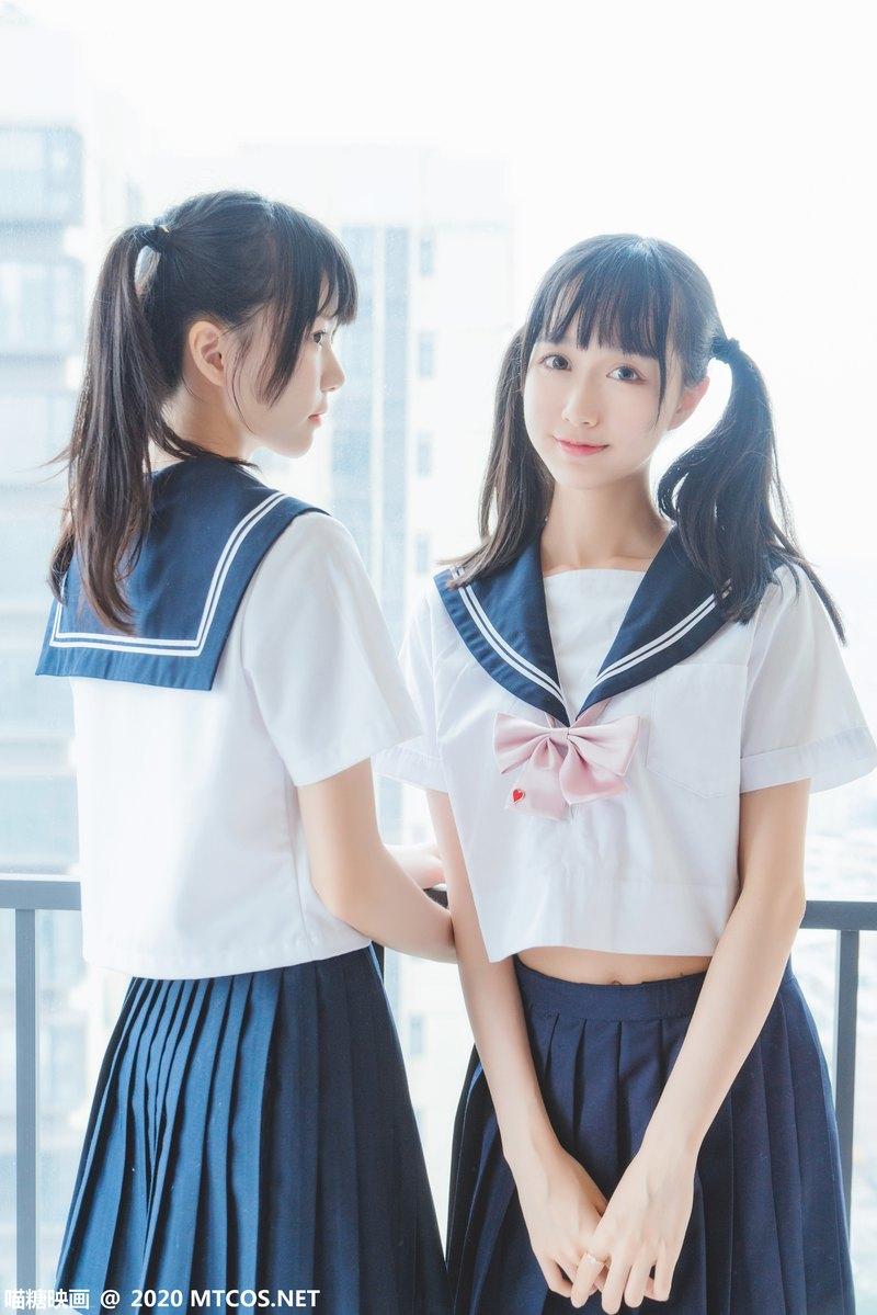 [喵糖映画] 裙美系列 JKL.014 她·JK制服 [33P] -第1张