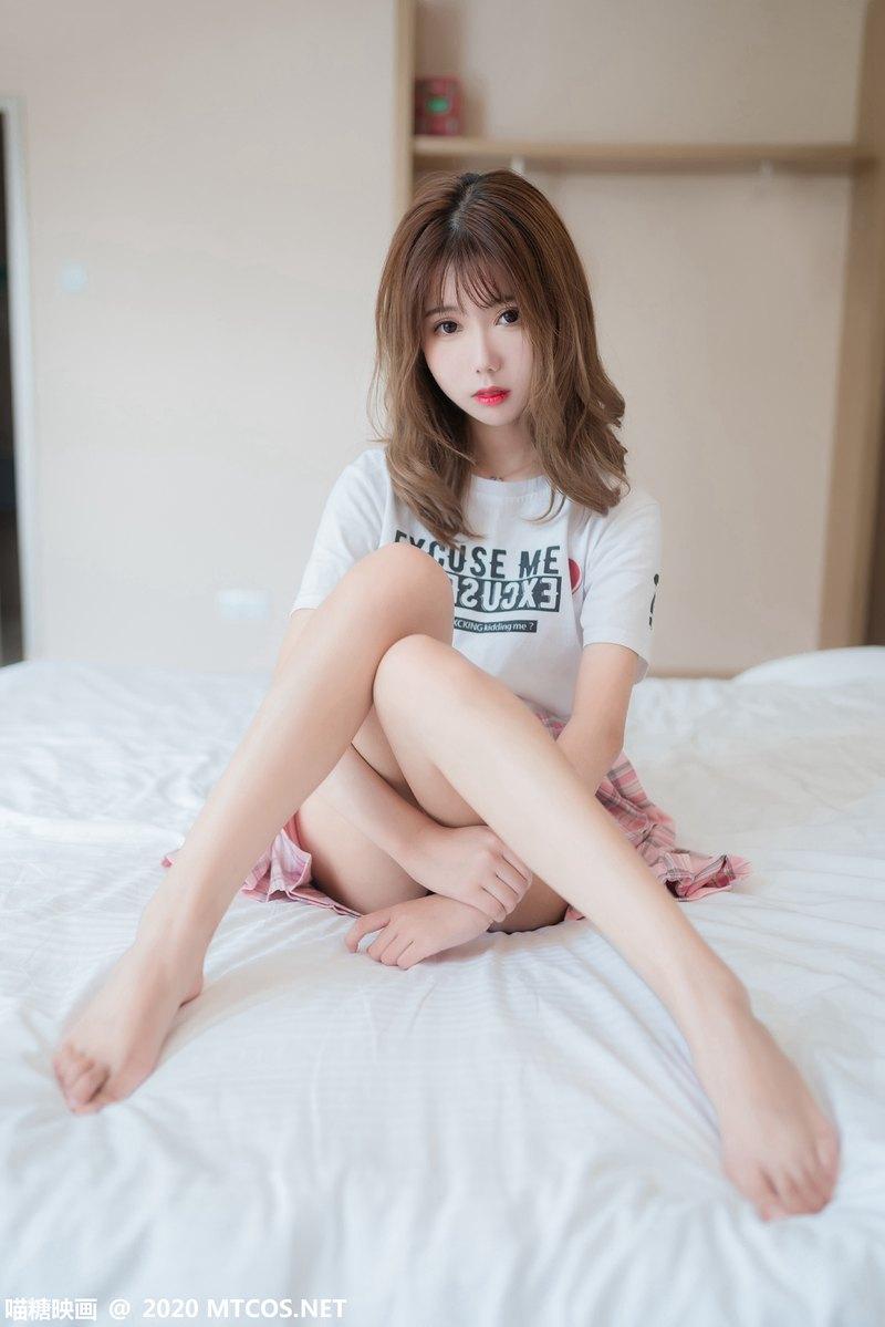 [喵糖映画] 裙美系列 JKL.010 白袜JK制服 [45P] -第1张