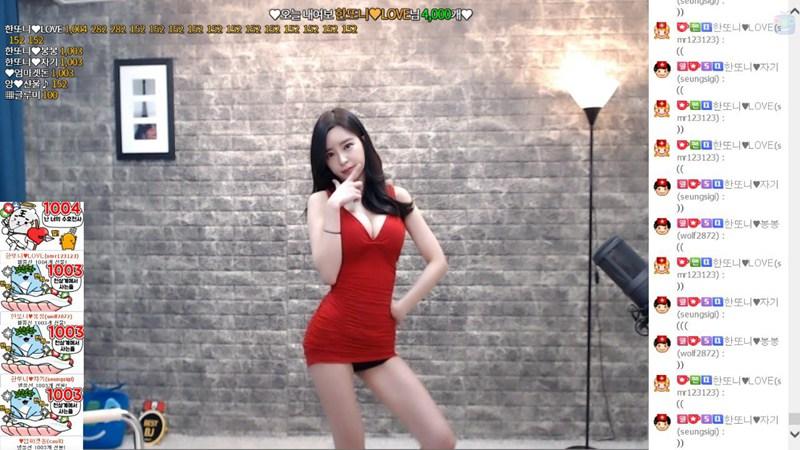 韩国AfreecaTV美女主播BJ韩豆妮直播热舞视频合集 [482V] -第4张