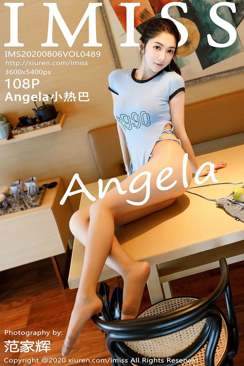 [IMISS爱蜜社] 2020.08.06 VOL.489 Angela小热巴 丝袜美腿写真 [108+1P] -第1张
