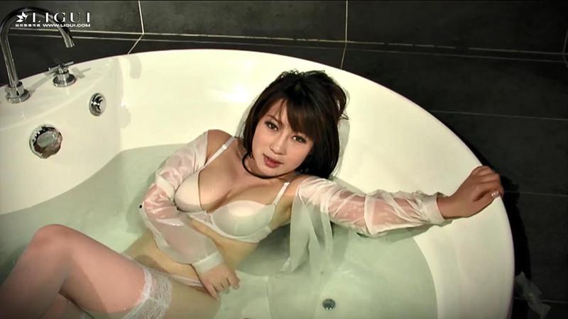 [Ligui丽柜] HD视频 袁晓《浴脂蕾丝》[1V] -第1张