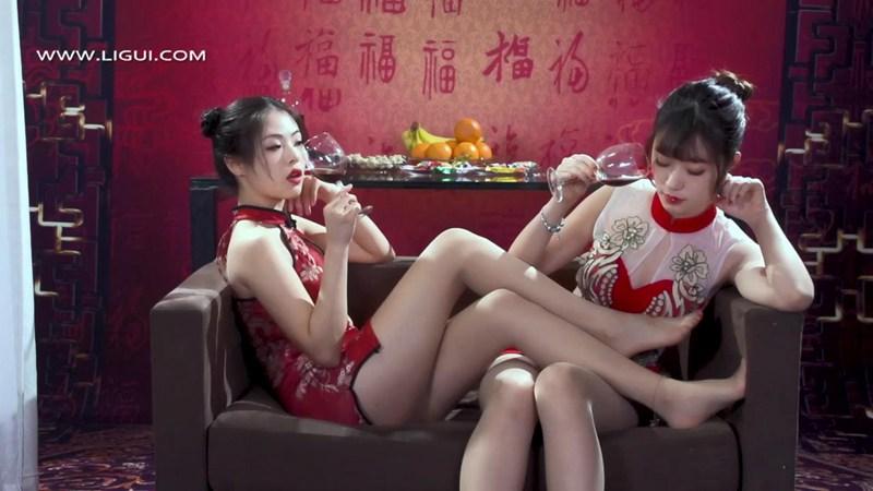 [Ligui丽柜] HD视频 《双生花》丝丝如意 [1V] -第1张