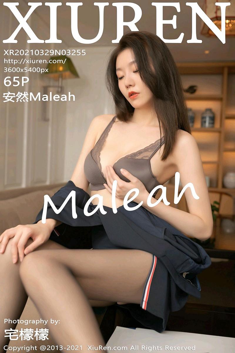 [XiuRen秀人网] 2021.03.29 No.3255 安然Maleah [65+1P]