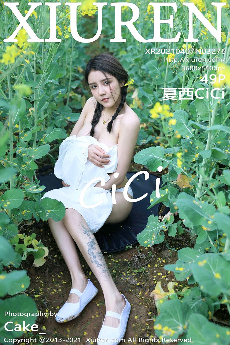 [XiuRen秀人网] 2021.04.07 No.3276 夏西CiCi [49+1P]