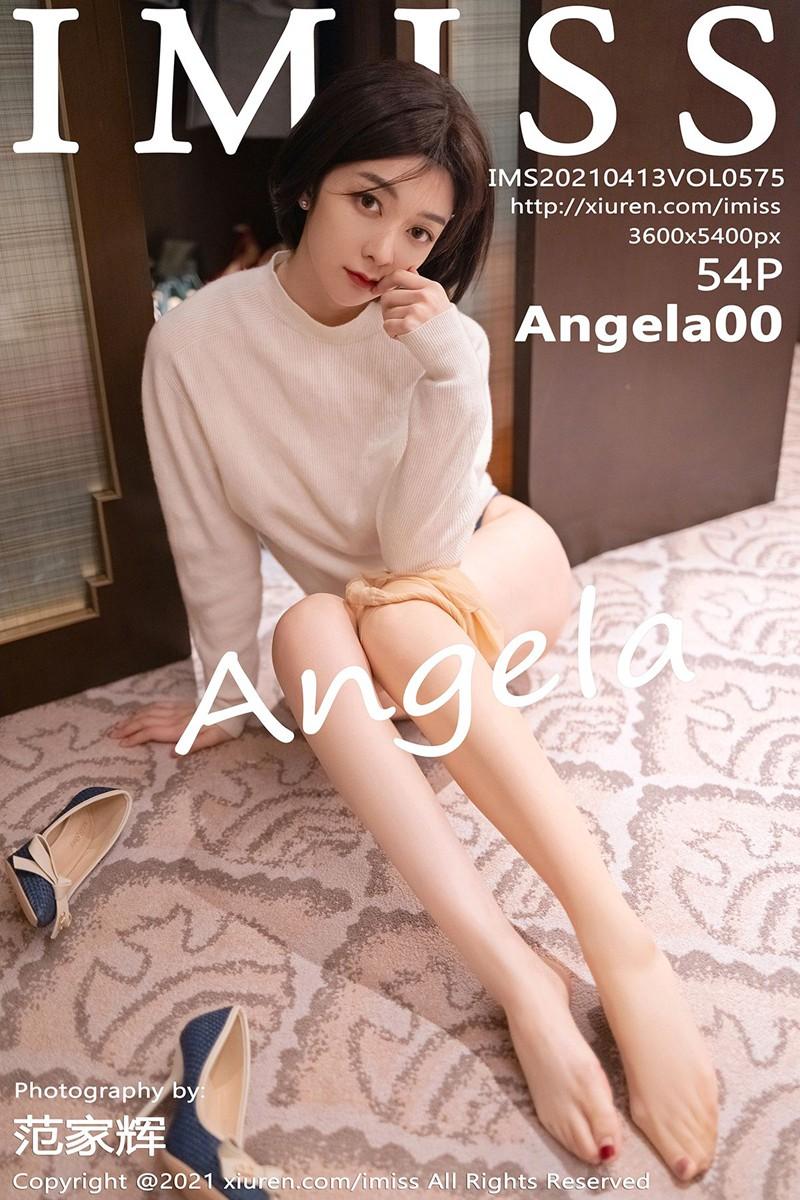 [IMISS爱蜜社] 2021.04.13 VOL.575 Angela00 [54+1P]
