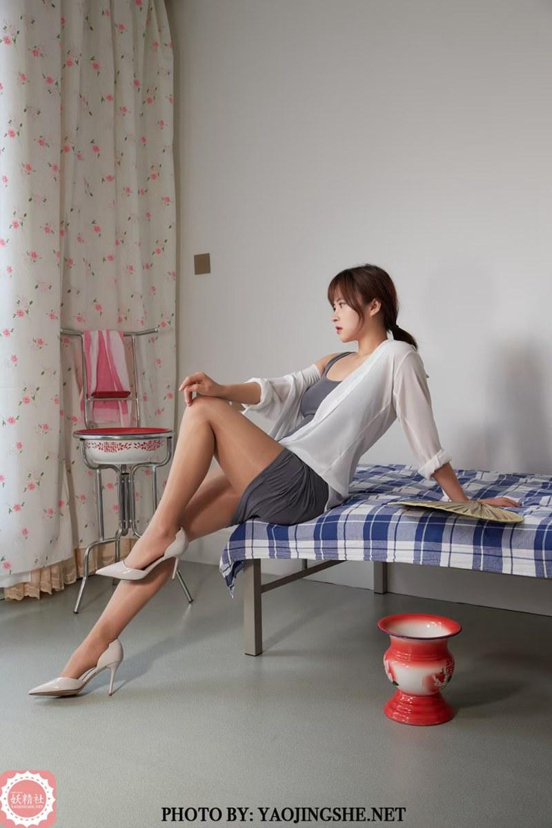 [妖精社] 2021.05.29 T2120《小梨-孤枕难眠》[40P] -第1张