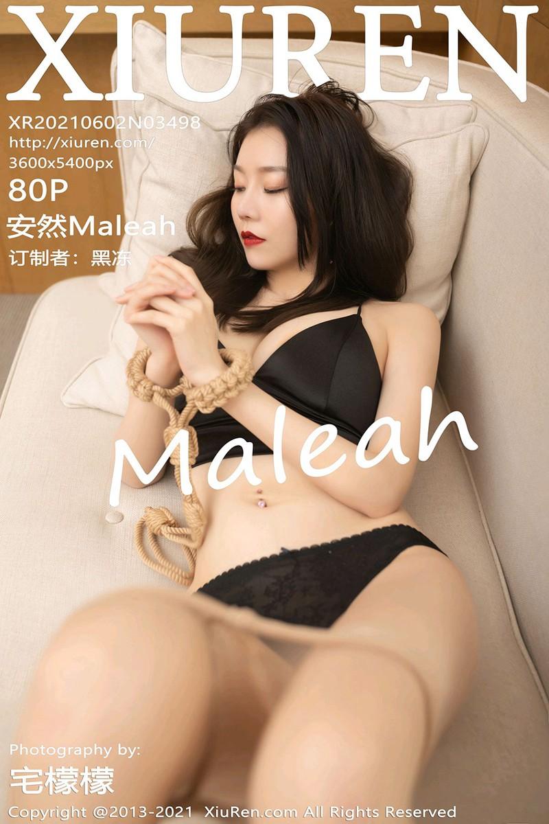 [XiuRen秀人网] 2021.06.02 No.3498 安然Maleah [80+1P]