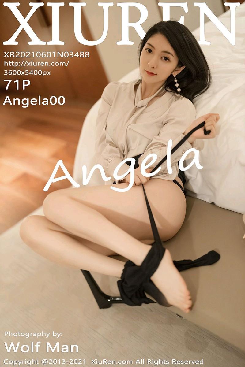 [XiuRen秀人网] 2021.06.01 No.3488 Angela00 [71+1P]